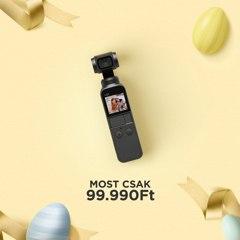 DJI Osmo Pocket kézi stabilizátor (2 év garanciával)