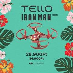 Tello Iron Man Edition (2 év garanciával)
