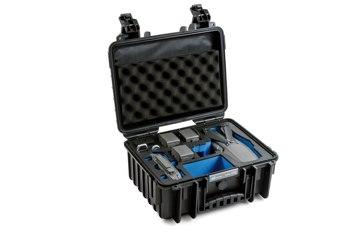 B&W koffer 3000 fekete DJI Mavic 2 (Pro/Zoom) modellhez