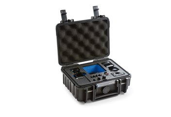 B&W koffer 500 fekete DJI Osmo Pockethez