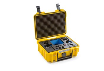 B&W koffer 500 sárga DJI Osmo Pockethez