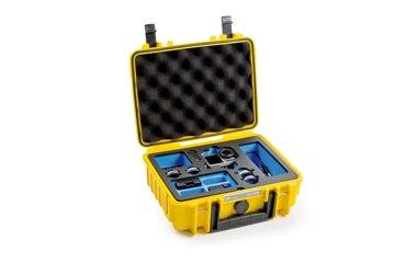 B&W koffer 1000 sárga Osmo Action akciókamerához