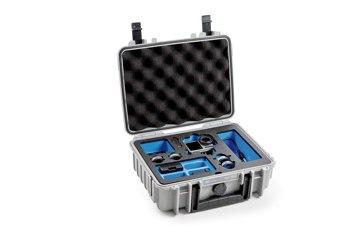 B&W koffer 1000 szürke Osmo Action akciókamerához
