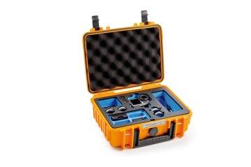 B&W koffer 1000 narancssárga Osmo Action akciókamerához