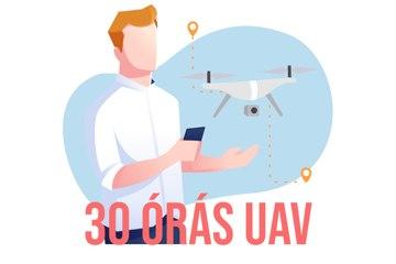 30 órás drónkezelő (UAV) képzés - BUDAPEST