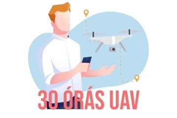 30 órás drónkezelő (UAV) képzés - EGER