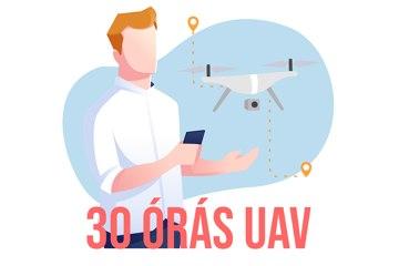 30 órás drónkezelő (UAV) képzés - MISKOLC